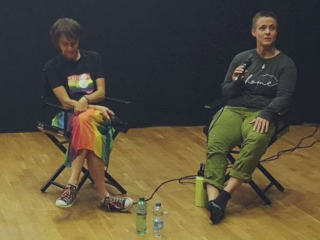 Sobriety Films attends Q and A